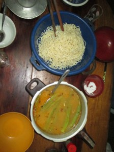 カルドーサとスパゲッティー