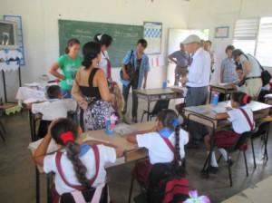 メヤの小学校の授業風景2