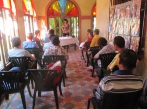 稲作プロジェクトの懇談会