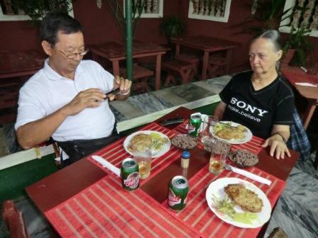 9/20にノボル・タマラ夫婦から夕食の招待を受ける。