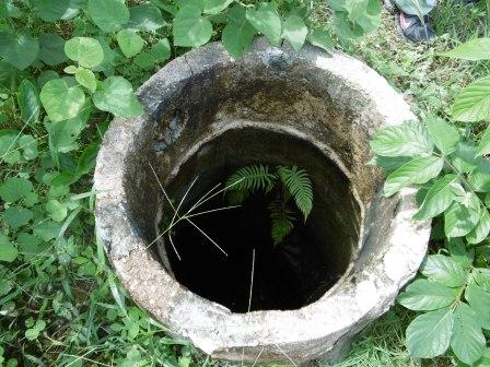 マルシアルの井戸、水が無い