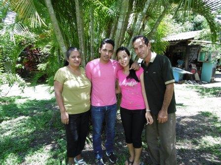 マルシアルの家族