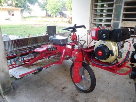 日本大使館による草の根無償支援事業による機械はようやく導入